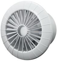 Badkamer ventilator rond diameter 120 mm wit - 120BB-1