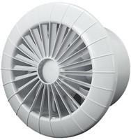 Badkamer ventilator rond diameter 120 mm wit met VOCHTSENSOR EN TIMER - 120BBHS-1