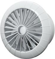 Badkamer ventilator rond diameter 150 mm wit - 150BB