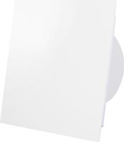 Badkamerventilator wit (mat) glazen front