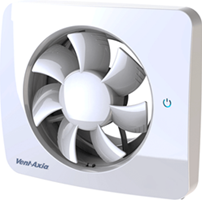 Badkamerventilator Svensa PureAir met geursensor (app-gestuurd)