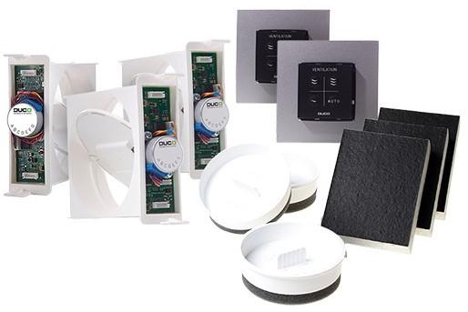 Badkamer Ventilatie Dakdoorvoer : Basispakket duco comfort plus systeem bij ventilatieland be