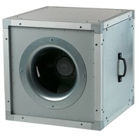 Boxventilator energiezuinig geisoleerd 2000 m3/h diameter 315mm - VS315EC-1