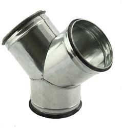 Broekstuk 45° diameter 125 mm - 125 mm voor spiraalbuis