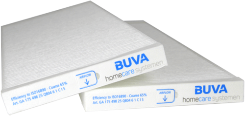 BUVA EcoStream WTW filterset ISO Coarse 65%