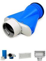 Uniflex plus ventilatieroosters & collectors