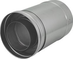 Concentrische diameter  80 - 125 mm schuifstuk I316L/I304 (D0,5/0,5)