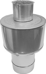 Concentrische diameter  80 - 125 mm kap I316L/I304 (D0,5/0,5)