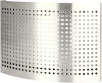 RVS ventilatie toevoer ventiel Ø 125 mm met geperforeerde kap voor wandmontage - DTQAY125Y