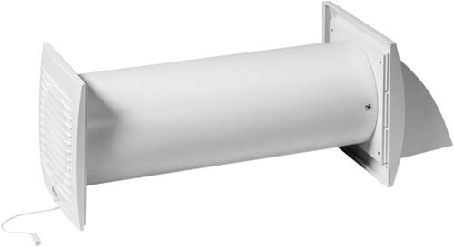 Decentrale WTW-unit Ø100 mm met trekkoord en stekker - EER100WP
