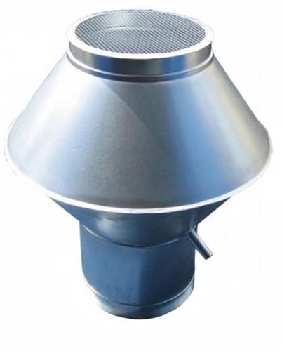 Deflectorkap rond 315 mm sendzimir verzinkt