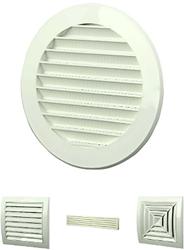 Diverse ventilatieroosters