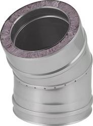 DW diameter 200 mm (200/250) bocht 30 gr I316L/I304 (D0,5/0,6)