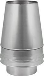 DW diameter 350 mm (350/400) Conische top I316L/I304 (D0,5/0,6)