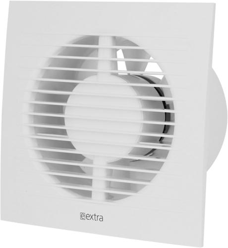 Badkamerventilator of toiletventilator diameter: 100 mm WIT - basis EE100