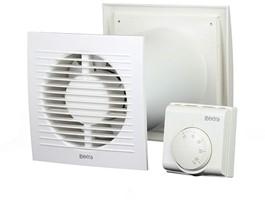 Ventilator met thermostaat