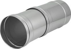 EW diameter 130 mm buis schuifstuk I316L (D0,5)