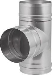 EW diameter 400 mm T-stuk 90 gr I316L (D0,6)