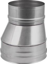 EW diameter 100 mm verloop excentrisch I316L (D0,5)