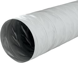 Greydec polyester ventilatieslang Ø 185 mm grijs (1 meter) (uitlopend)
