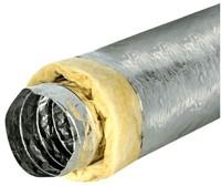 Isodec thermisch 102 mm geisoleerde ventilatieslang (10 meter)