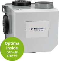 Itho Daalderop OptimaFlow CVE CO2 paketten