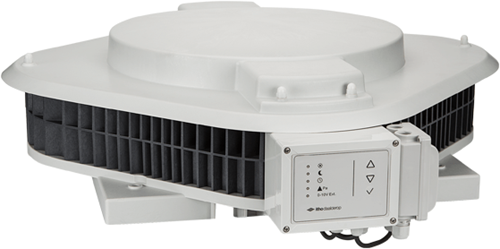 Itho Daalderop dakventilator CAS 3.2 - tijd en onderdruksturing / 230V - 3570m³/h