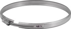 Klemband diameter  230 mm I304L (D0,6)