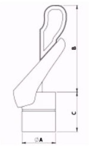 Gek ventilator 200 mm RVS-2