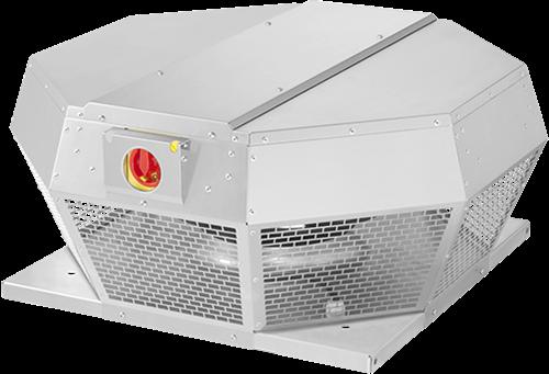 Ruck dakventilator horizontaal met EC motor en werkschakelaar 3100m³/h - DHA 355 ECP 30