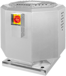 Ruck horeca dakventilator dempend voor keukenafzuiging tot 120°C 3670 m³/h - DVNI 315 E2 21