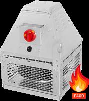 Rookgasafvoer dakventilator horizontaal (DHN DF-serie)