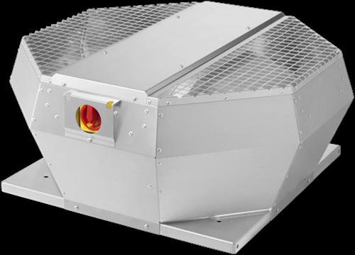 Ruck dakventilator verticaal met EC motor en opendraaiende ventilatie-unit 940m³/h - DVA 220 ECP 31