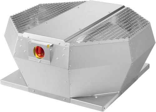Ruck dakventilator verticaal met openklappende ventilatie-unit 3740m³/h - DVA 400 E4P 31