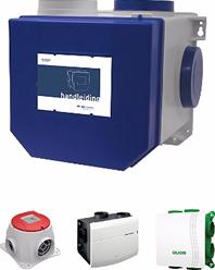 Ventilatiesysteem C - mechanische ventilatie