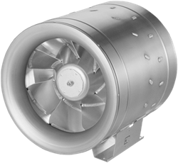 Ruck buisventilator Etaline met EC motor 13080m³/h diameter 560mm - EL 560 EC 10