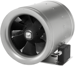 Ruck buisventilator Etaline E met voltage regeling 1625m³/h diameter 250 mm - EL 250 E2 06