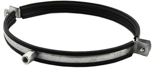 Metalen beugel Ø 125mm met rubber - SBOU125