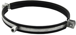 Metalen beugel Ø 150mm met rubber
