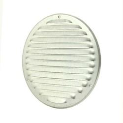 Metalen ventilatierooster rond Ø 160mm zink