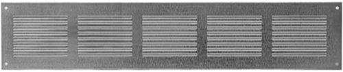 Metalen rechthoekige sleuf rooster 500x100 zink - MR5010ZN
