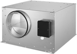 Ruck geïsoleerde boxventilator ISOR 390m³/h diameter  150 mm - ISOR 150 E2 20