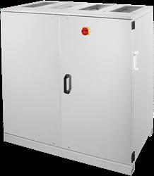 Ruck ETA-V luchtbehandelingskast met WTW en water verwarmer - Verticale uitblaas 1410m³/h