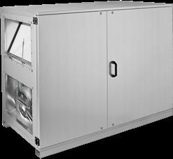 Ruck ETA-H luchtbehandelingskast met WTW en water verwarmer - Horizontale uitblaas rechts - 780m³/h