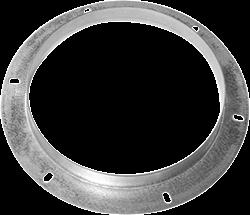 Ruck inlaatflens, gegalvaniseerd plaatstaal diameter 399 mm - DAF 400