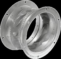 Ruck flexibele dakaansluiting, gegalvaniseerd plaatstaal diameter 569 mm - DAS 560
