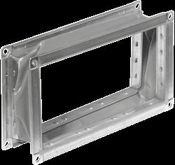 Ruck flexibel verbindingsstuk gegalvaniseerd plaatstaal 1200 x 400 - VS 12040
