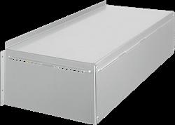 Ruck MPS 400 EC weerbestendige afdekkap, gegalvaniseerd plaatstaal - WSH MPS EC 03