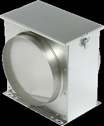 Ruck luchtfilterbox met vliesfilter diameter 200 - FV 200