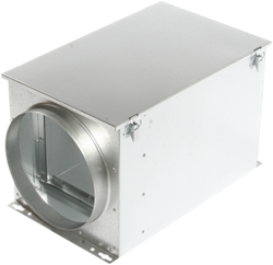 Ruck luchtfilterbox voor zakkenfilter 100 mm - FT 100
